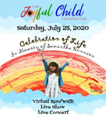 Celebration of Life Saturday, July 25th