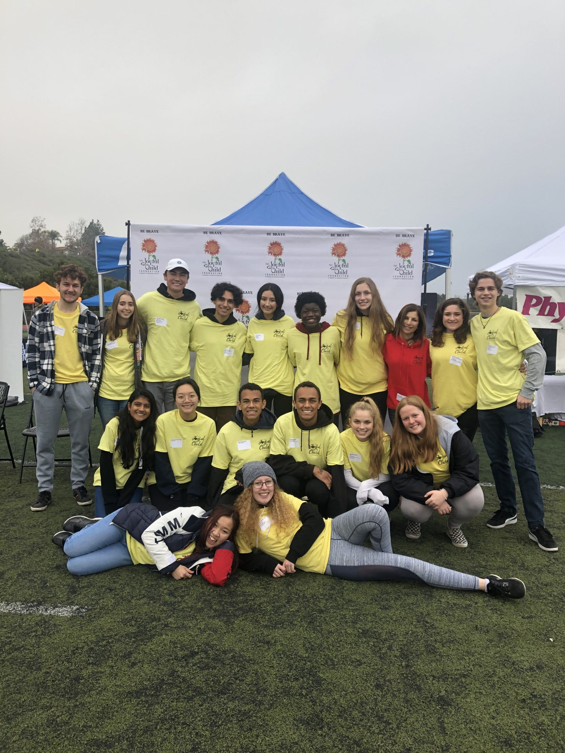BRAVE Race Volunteers 2020 - Capo HS BRAVE Club