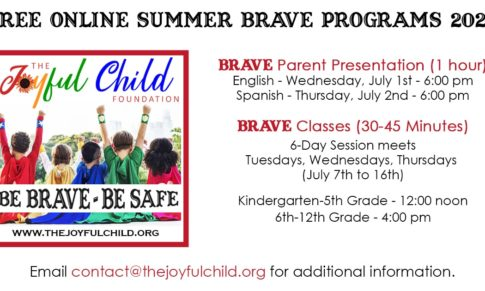 Online Summer BRAVE Class (Community Partners Only)