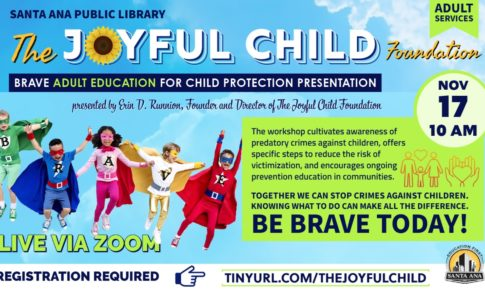 BRAVE Adult Education for Child Protection Presentation – Santa Ana Public Library